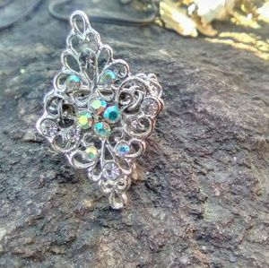 Adorable Silver Custom Princess Ring